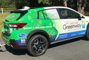 custom vinyl vehicle wrap by ARTfx sign company in connecticut